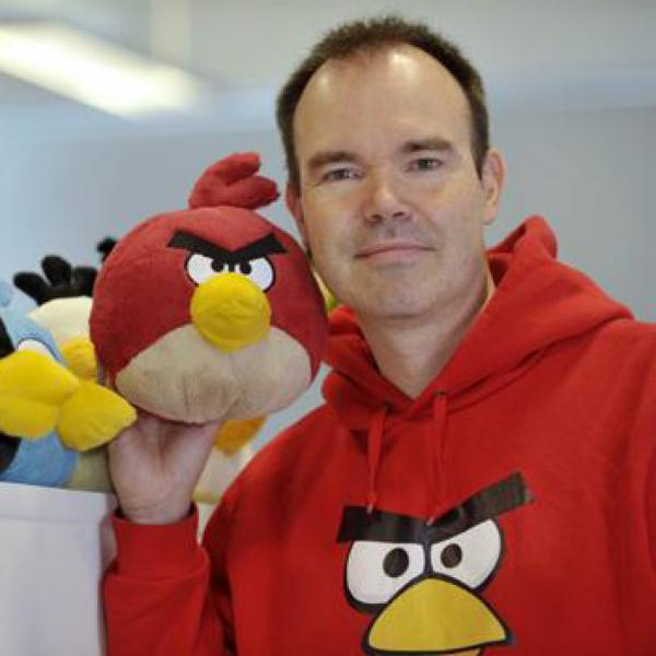《愤怒的小鸟》之父魏皮特从Rovio离职